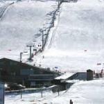La estación de la Covatilla a tope de nieve Enero 2018