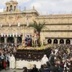 Calles con limitaciones de gente Semana Santa Salamanca 2018