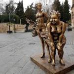 Calles para ver estatuas Chinas Salamanca 2019