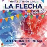Programa Fiestas la Flecha Junio 2019