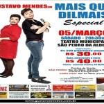 """EVENTO – Teatro Municipal de São Pedro da Aldeia vai apresentar """"Mais que Dilmais"""""""
