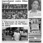 JORNAL NOTÍCIAS DE SÃO PEDRO DA ALDEIA EDIÇÃO DE ABRIL 2016