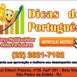 Reforço Multidisciplinar & Aulas Particulares – Dicas de Português: Acento ou assento?