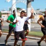ESPORTE – Evento-teste para a passagem da Tocha Olímpica é realizado em Búzios