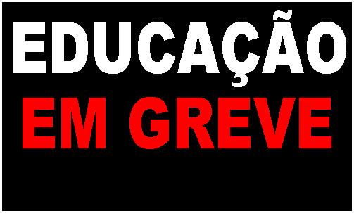 educação-greve