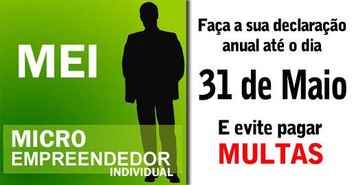 Microempreendedores declaração anual