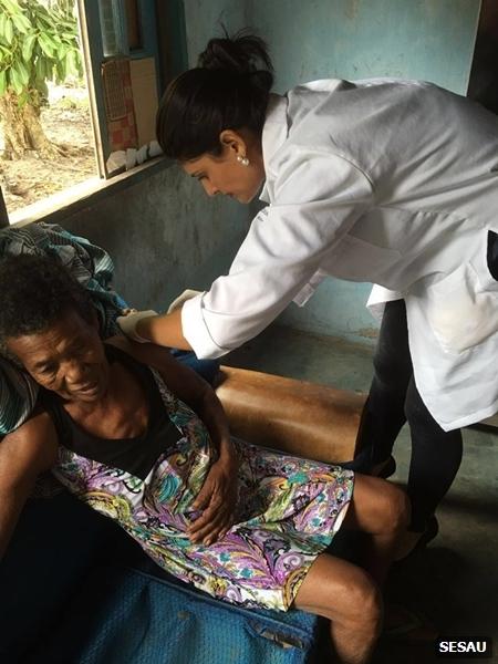 vacinação domiciliar contra H1N1