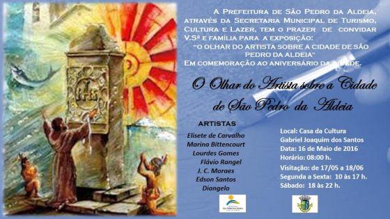 Exposição em São Pedro da Aldeia