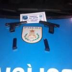 AÇÕES POLICIAIS – Um homem e dois adolescentes são detidos com armas em Cabo Frio
