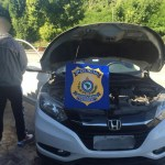 AÇÕES POLICIAIS – Lutadores de MMA são flagrados com carro roubado em blitz na BR-101