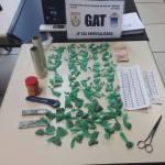 AÇÕES POLICIAIS – Drogas são apreendidas na Comunidade do Valão em Cabo Frio