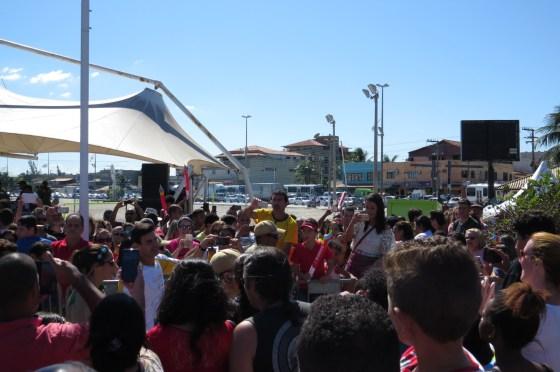 revezamento da tocha em São Pedro da Aldeia