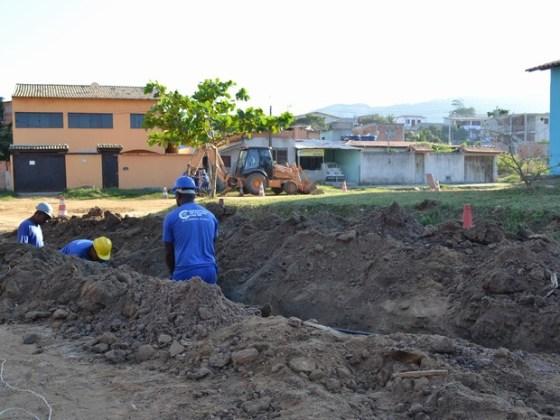 Obras acontecem em três bairros da cidade