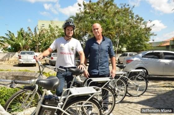Prefeitura aldeense adquire bicicletas elétricas para fiscalização 1