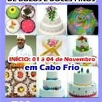 CURSO EM CABO FRIO – Flor de Lotus realiza curso de bolos e decorações em Cabo Frio