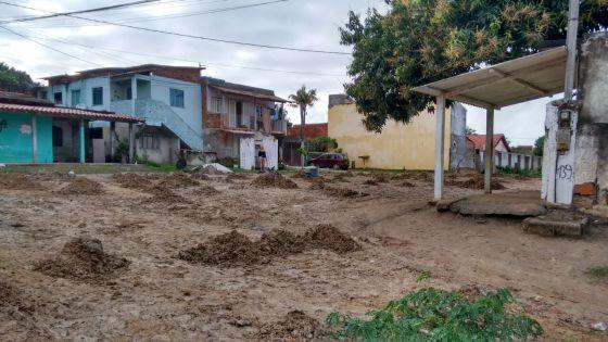 Lama em Praia Linda