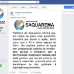 RÉVEILLON 2017 – Festa de Réveillon é cancelada em Saquarema