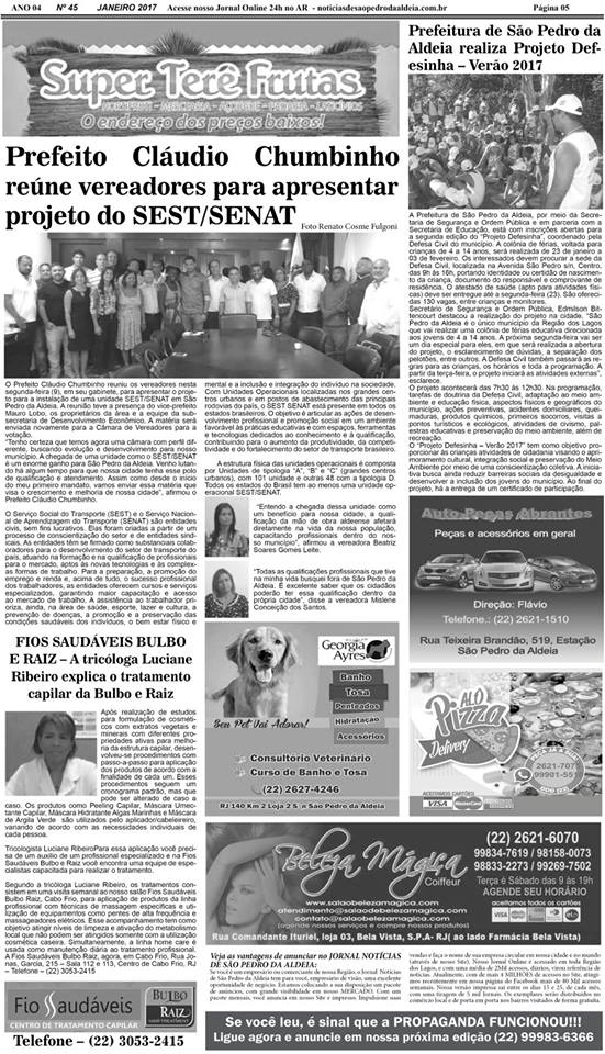 Notícias de São Pedro da Aldeia 4