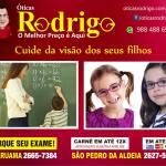 ÓTICAS RODRIGO – Conheça os sinais de que seu filho precisa fazer um exame de vista