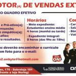 OPORTUNIDADE DE EMPREGO – On Byte, São Pedro da Aldeia, está com vagas para promotor(a) de vendas externo