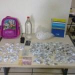 AÇÕES POLICIAIS – Jovem é apreendido com maconha, loló e cocaína em Saquarema