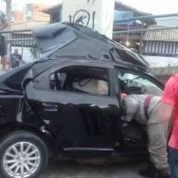 ACIDENTE – Homem morre após bater com o carro na passarela da RJ-140, em São Pedro da Aldeia