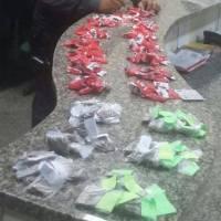 AÇÕES POLICIAIS  – Polícia Militar prende homem com 140 pinos de cocaína e 60 buchas de maconha no Balneário
