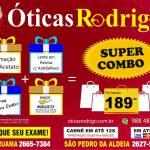 ÓTICAS RODRIGO – Destaque na TV Shop Região dos Lagos, confira nossas promoções