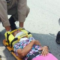 ACIDENTE – Idosa é atropelada por bicicleta em Araruama