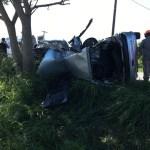 ACIDENTE – Homem morre e policiais militares ficam feridos em acidente na RJ-106