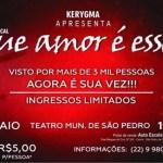 """SÃO PEDRO DA ALDEIA – Teatro Municipal Átila Costa apresenta """"Que amor é esse?"""""""