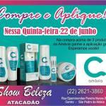 """SHOW BELEZA ATACADÃO – Nessa quinta (22), promoção """"Compre e Aplique"""" da Amávia"""