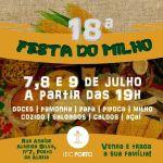 EVENTO – Nos dias 7, 8 e 9 de julho acontece a 18ª Festa do Milho em São Pedro da Aldeia