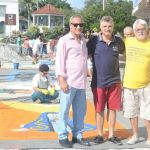 SÃO PEDRO DA ALDEIA – Tapetes de sal enfeitam São Pedro da Aldeia no feriado de Corpus Christi
