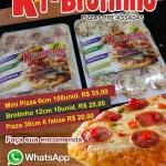 KI-BROTINHO – Mini Pizzas pré-assadas para eventos em geral em São Pedro da Aldeia