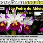 EVENTO – SÃO PEDRO DA ALDEIA TERÁ EXPOSIÇÃO DE ORQUÍDEAS NO HORTO ESCOLA ARTESANAL