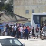 ACIDENTE – Motociclista fica ferido após colisão com ônibus da Auto Viação 1001, em São Pedro da Aldeia