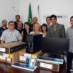 SÃO PEDRO DA ALDEIA – DELEGACIA DA JUCERJA DE SÃO PEDRO DA ALDEIA RECEBE DOIS NOVOS COMPUTADORES