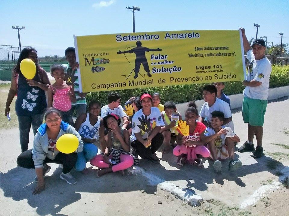 SÃO PEDRO DA ALDEIA - Instituição Missão Kids realiza Volta Ciclística em favor da vida