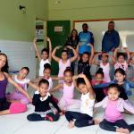 """SÃO PERO DA ALDEIA – Projeto """"Esporte na Escola"""" inicia aulas de balé em mais duas unidades escolares de São Pedro da Aldeia"""