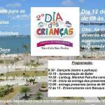 EVENTO – 2º DIA DAS CRIANÇAS DO GRUPO NÃO CALA SÃO PEDRO SERÁ REALIZADO NA MANHÃ DESSA QUINTA (12)
