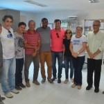 VICE-PREFEITO VISITA SECRETARIA DE EDUCAÇÃO DE SÃO PEDRO DA ALDEIA