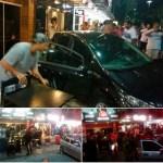 AÇÕES POLICIAIS – Carro usado em roubo invade calçada e atropela quatro pessoas em Cabo Frio, diz PM