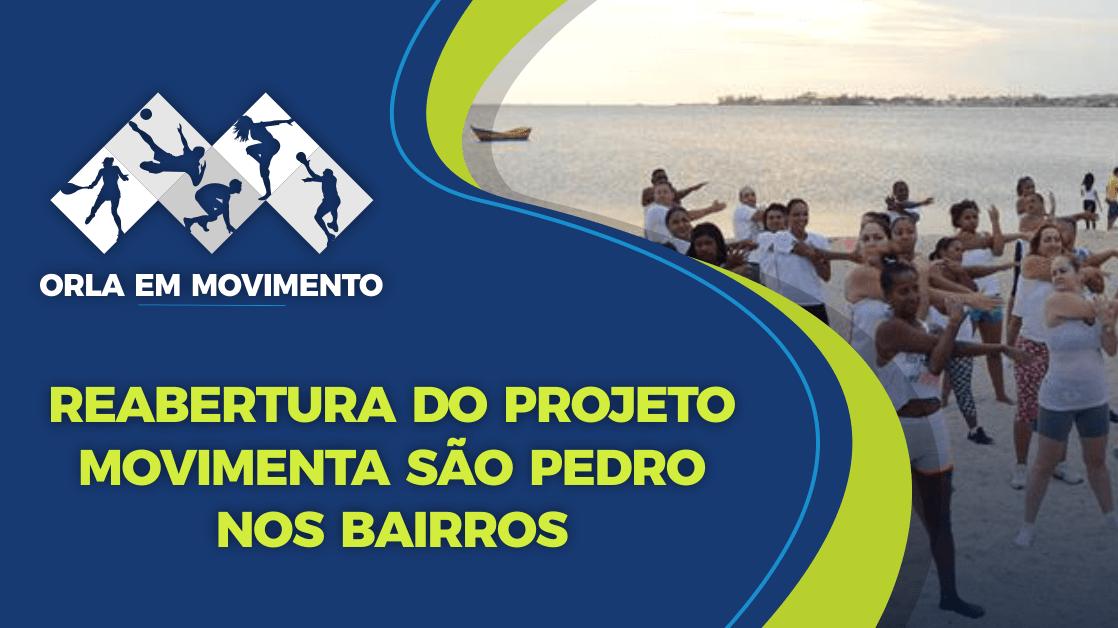 """SÃO PEDRO DA ALDEIA - Projeto """"Orla em Movimento"""" retoma atividades esportivas gratuitas nesta segunda-feira (22) em São Pedro da Aldeia"""