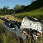 ACIDENTE – Dois morrem e outros três ficam feridos em acidente na RJ-106, em Saquarema