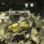 ACIDENTE – Carro explode em posto de combustíveis em Macaé