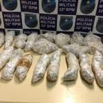 AÇÕES POLICIAIS – PM encontra 2,5 mil pinos de cocaína enterrados em obra abandonada em Macaé