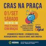 BÚZIOS – Kits de antena e conversor de sinal de TV Digital serão entregues na praça de Cem Braças