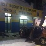 AÇÕES POLICIAIS – Homem é baleado ao atirar contra policiais durante abordagem na RJ-124, diz BPRv