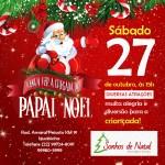 SONHOS DE NATAL – Empresa prepara festa para a grande chegada do Papai Noel